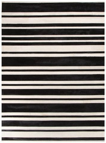 Black and White Cowhide Rug - Complete Pad ®