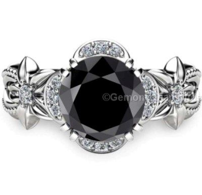 This ring you can Perfect Gift if you will gift to any fashion lovers. Black Diamonds are in buzz nowadays. You can also gift this ring on someone's Birthdays.