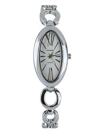 Buy Hallmark Silver Plated watch Online - NetJewel