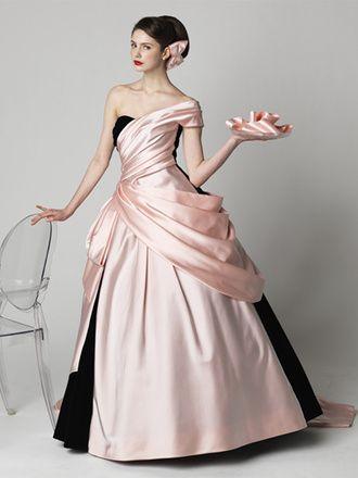 エリ松居ウエディングドレスサロン  ローレンバコール(Pink×Black)