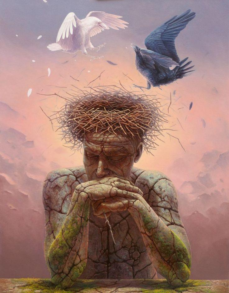 * Surrealist Painting By Tomasz Alen Kopera