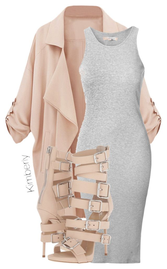 """""""Untitled #1733"""" by whokd ❤ liked on Polyvore featuring Glamorous and Giuseppe Zanotti"""