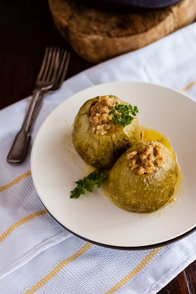 kitchen boss eggplant caponata%0A Round Courgettes stuffed with Tuna  Cheese and Breadcrumbs  Zucchini  Ripieni