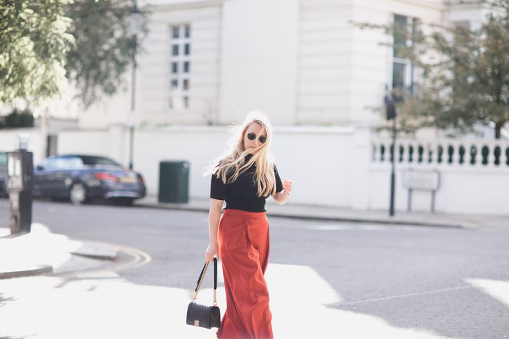 Autumn Style | Autumn Work Wear | Jigsaw Culottes | Chanel Boy | Outfit Inspo | Reiss Boots