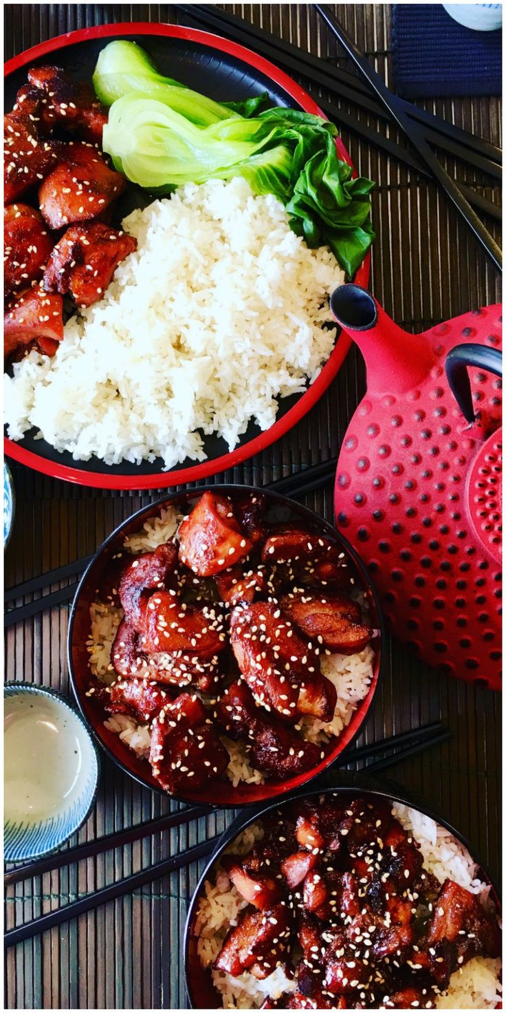 Teriyaki Chicken is an authentic Japanese classic, healthy and easy to make with soy sauce, sake, mirin and sugar. Ready to grill, bbq, pan fry or add to a stir fry. Healthy and low fat with maximum flavor - Easy Chicken Teriyaki Recipe