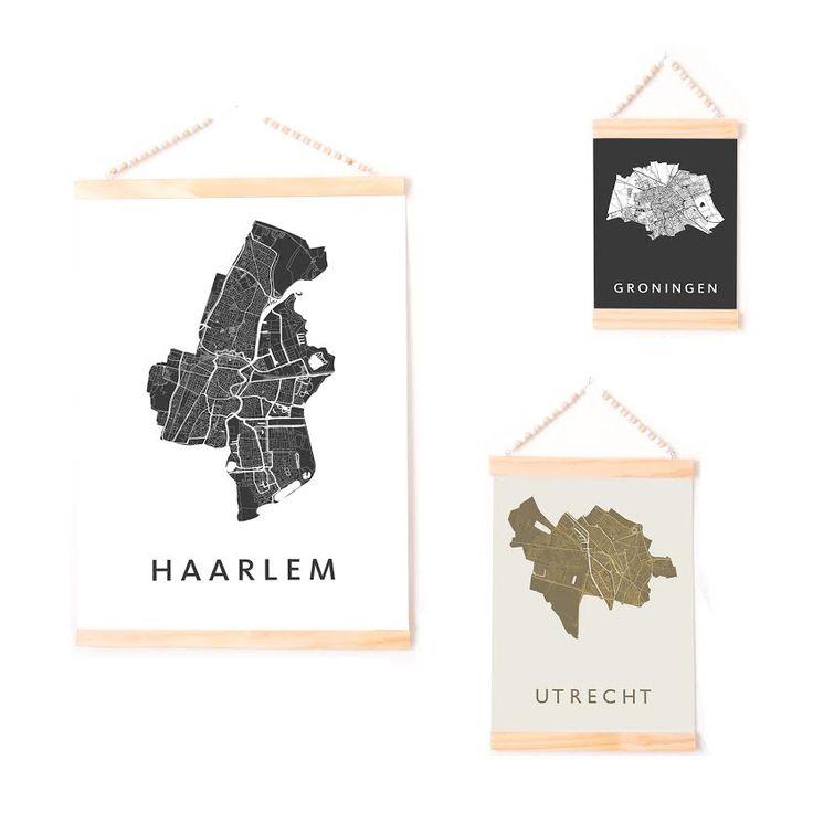 Kunst in kaart, stadsplattegrond - Travelvibe