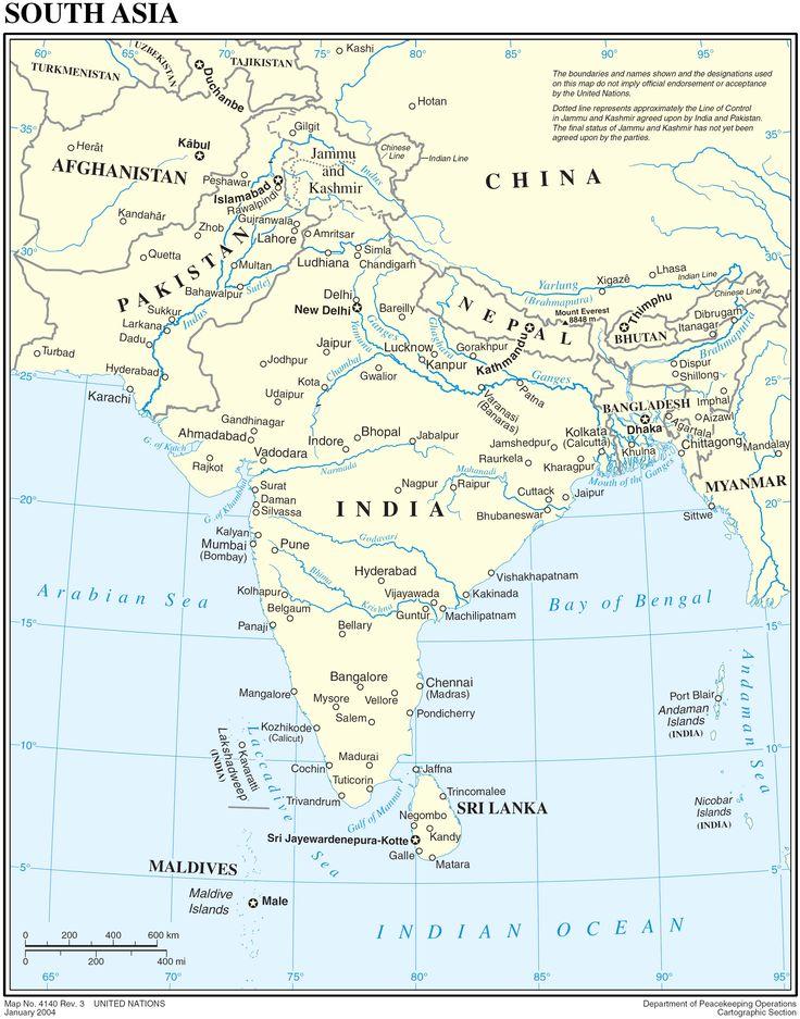 Mapa_Politico_Sur_Asia_2004