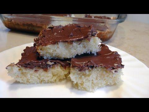 Torta Morbida Cocco e Nutella ( super Semplice ) - YouTube