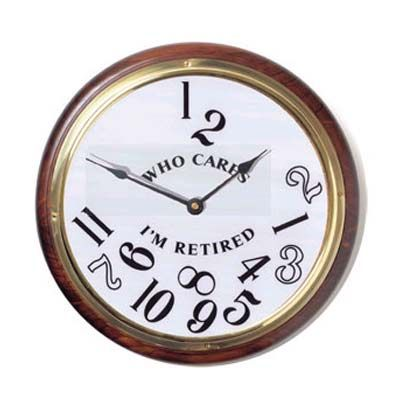 "There comes a time in everybody's life when they can turn to the world and say ""Forget the schedule, I'm retired!"" So why not commemorate this well-earned milestone with the ever-so clever ""I'm Retire"