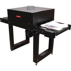 The Little Buddy II Conveyor Dryer by BBC Industries, Inc. features better exhaust and insulation keep your shop cooler. BBC's Screen printing equipment
