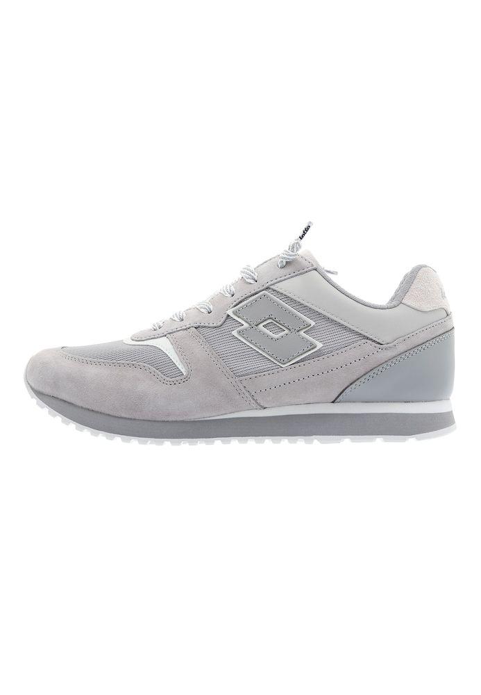 LOTTO LEGGENDA Sneaker 'Tokyo Ginza' Herren, Grau / Greige / Hellgrau / Weiß, Größe 44