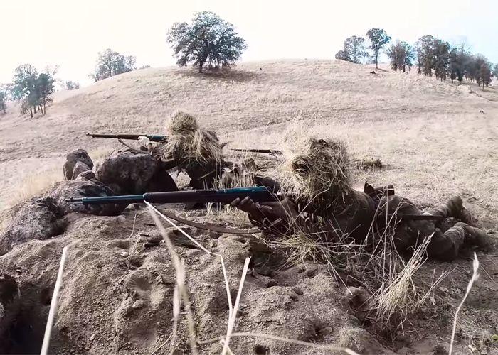 DesertFox: M1919 MG vs Banzai Charge