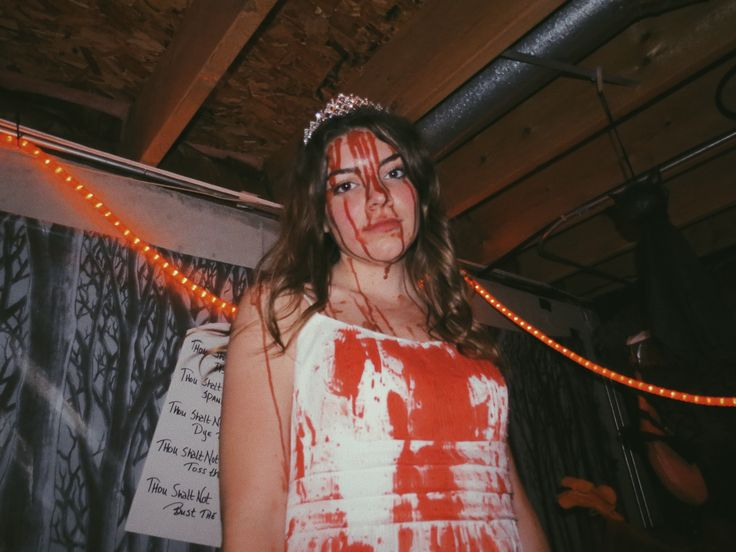 Carrie - my Halloween costume