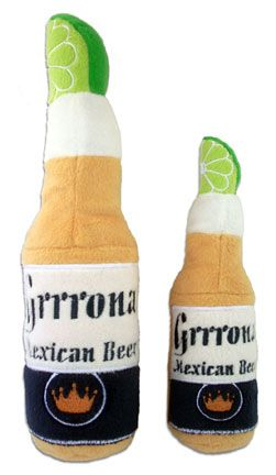 Grrrona Mexican Beer Dog Toy