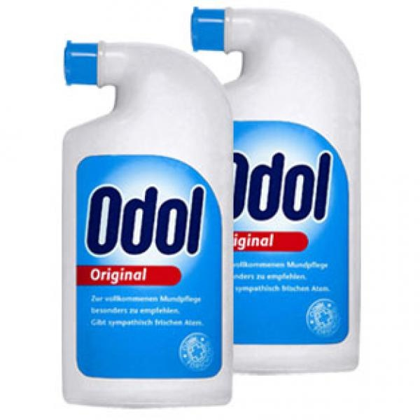 Odol Mundwasser:  Omi would use this, and I would too I think