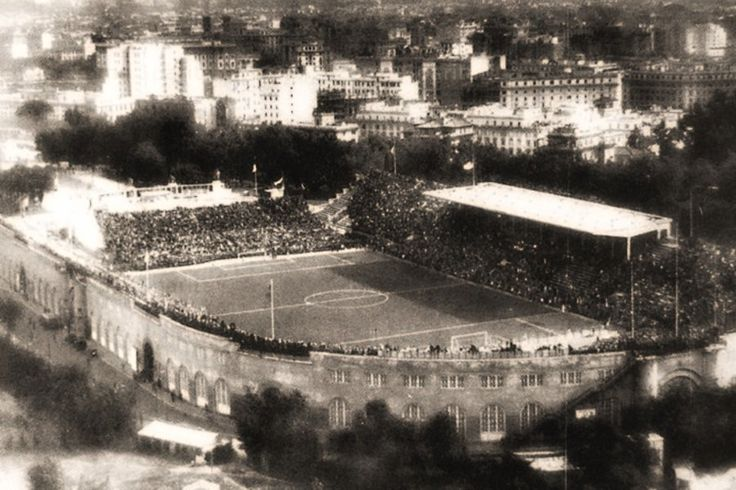 10 Giugno 1911 #AccaddeOggi #Roma viene inaugurato lo #Stadio #Nazionale #Flaminio