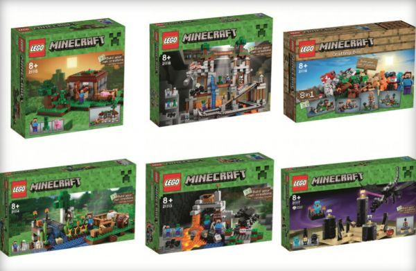 Les Lego Minecraft, quoi de plus logique ?