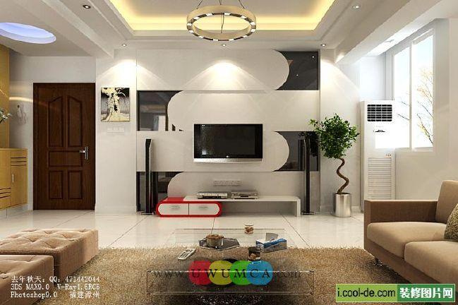 Living Room:Decorating Brazilian Living Room And Lighting With Sofa Furniture Coffee Table Chairs Rug Design For Small Spaces TV Wall Units 22 In Black And White Colors Luxury Living Room Decor of an Art Collector by Gisele Taranto