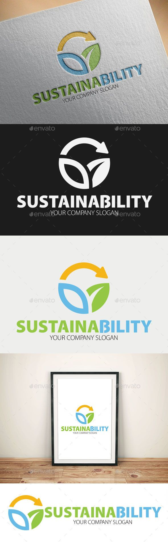 Sustainability Logo Templates - Logo Templates