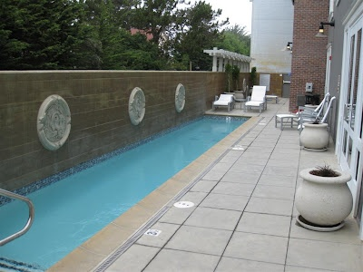 Small place - want a pool - install a lap pool.