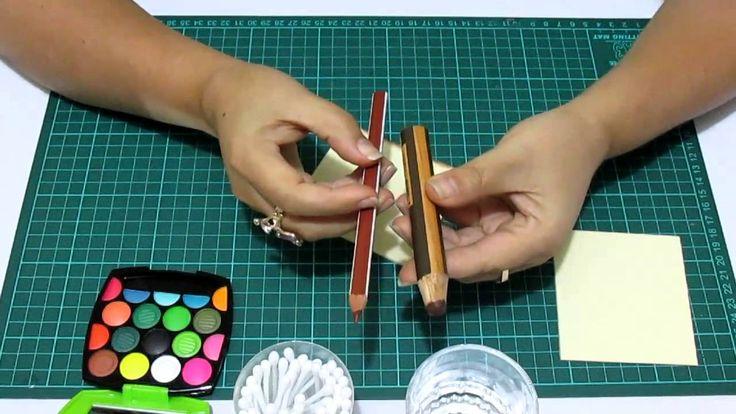 DIY Difuminar con Crayones en Fomi, Goma Eva, Microporoso, Easy Crafts
