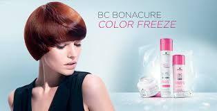 Schwarzkopf BC Bonacure Color Freeze Hair care for color treated hair Produits pour les cheveux colorés