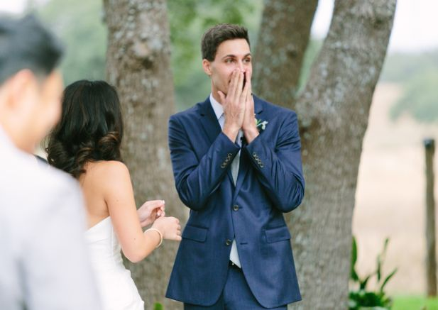 Surprise your Groom on your wedding day