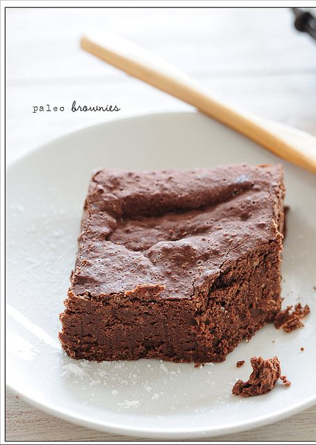paleo brownies by jules:stonesoup, via FlickrDesserts, Brownie Recipes, Coconut Flour Brownies, Paleo Brownies4, Free Brownies, Brownies Recipe, Eating, Coconut Oil, Paleo Recipe