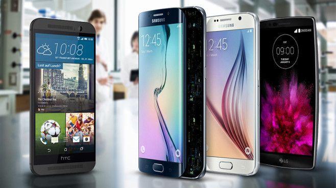 Das iPhone fliegt aus der TopTen. Samsung Platz 1 und 2 und 3.