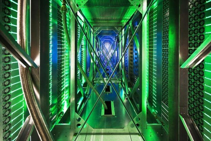 Google data center!crazy