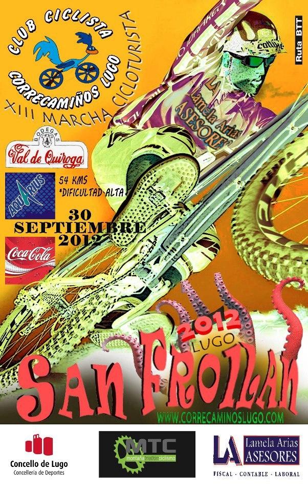 Club Ciclista Correcaminos Lugo XIII Marcha Cicloturista.Club Ciclistas, Marcha Cicloturista, Ciclistas Correcamino, Cycling Posters, Lugo Xiii, Xiii Marcha, Correcamino Lugo