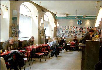 Cafe Bar No 9 in the DD. Uudenmaakatu 900120 Helsinki. Good breakfast, apparently.