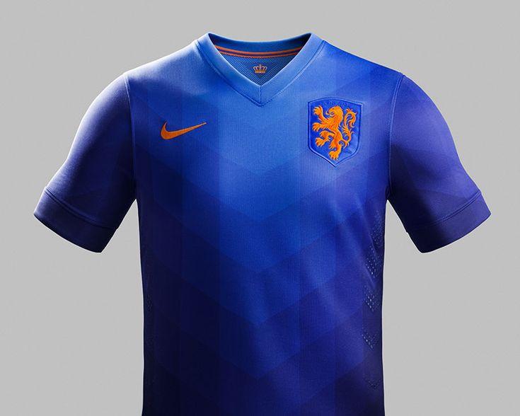 NIKE 2014 netherlands away shirt