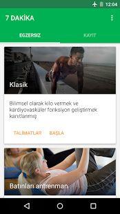 7 Dakika Egzersiz- ekran görüntüsü küçük resmi