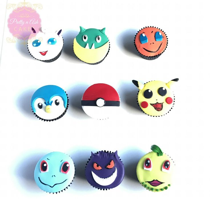 These Pokemon character cupcakes were SUPER fun to create probably as much fun as the game itself !!  3D Pokemon cupcakes were created using fondant and #edibleartpaint  by @sweetsticksau    #prettynashcakes #melbournecakes #birthdaycakes #melbournecakedecorator #sugarart #cakesinmelbourne #pokemoncupcakes  #cupcakesmelbourne #cupcakesonline #cupcakesmelbourne #acdnmember #edibleartpaint