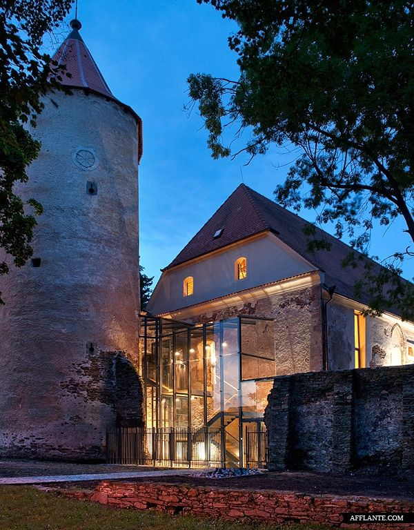 Revitalization of 13th Century Fort | Sobeslav | Atelier Krocak