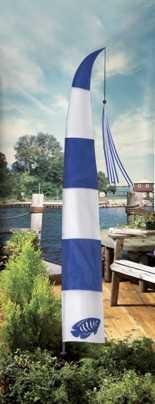 a nautical garden banner.