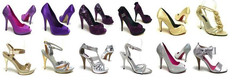 Какого цвета надеть туфли с серебристым платьем
