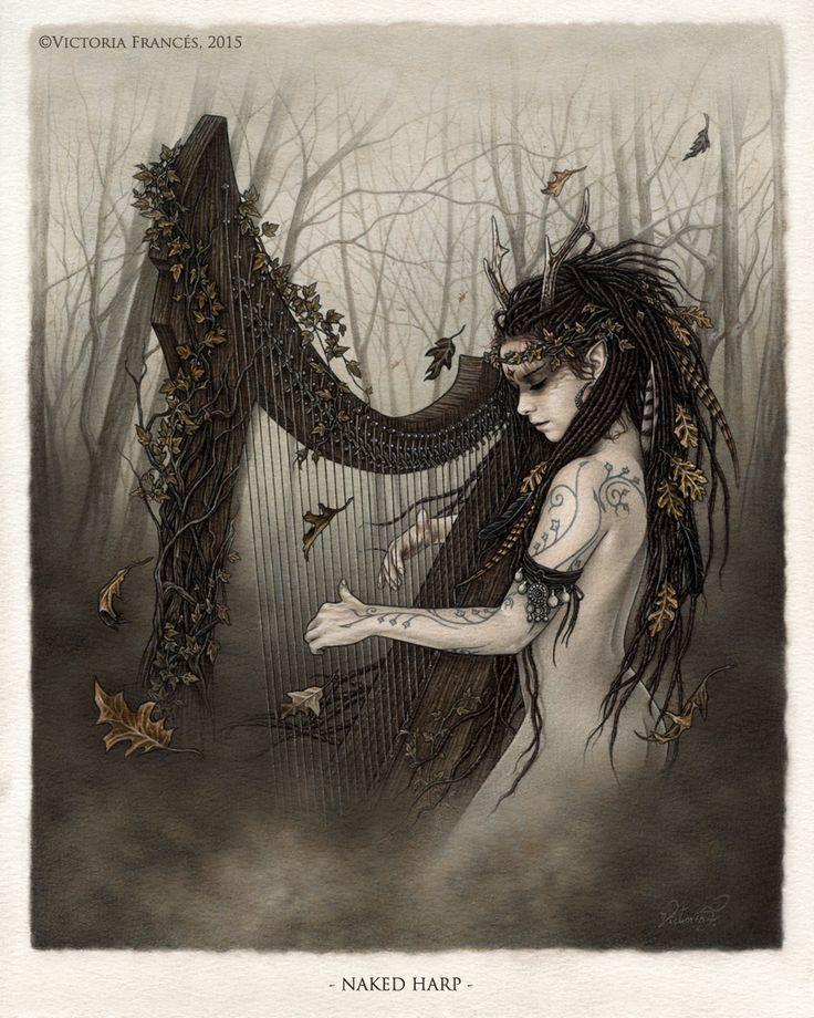 Naked Harp - OMNIA - Victoria Francés