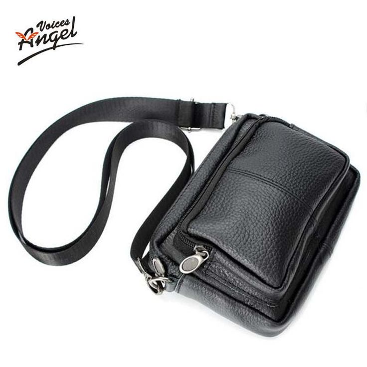 vintage genuine Leather small men bagmen s casual mini shoulder bag black Isn`t it awesome? #shop #beauty #Woman's fashion #Products #homemade