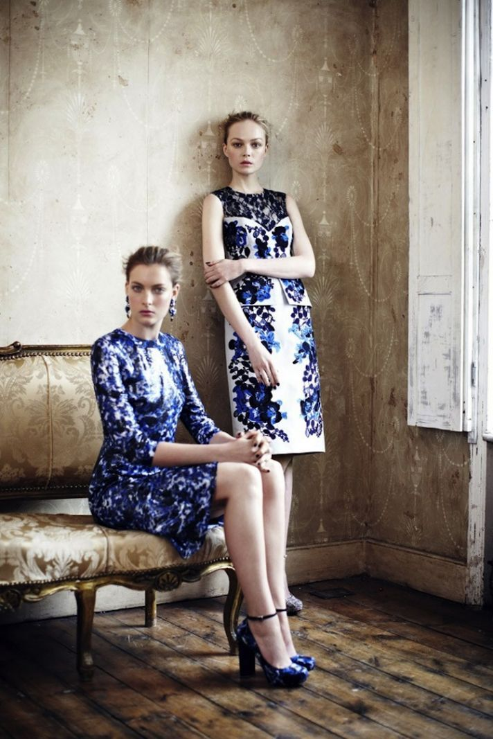 How you wear floral and lace to your next wedding? Get inspired by Erdem to dress as a #wedding guest.