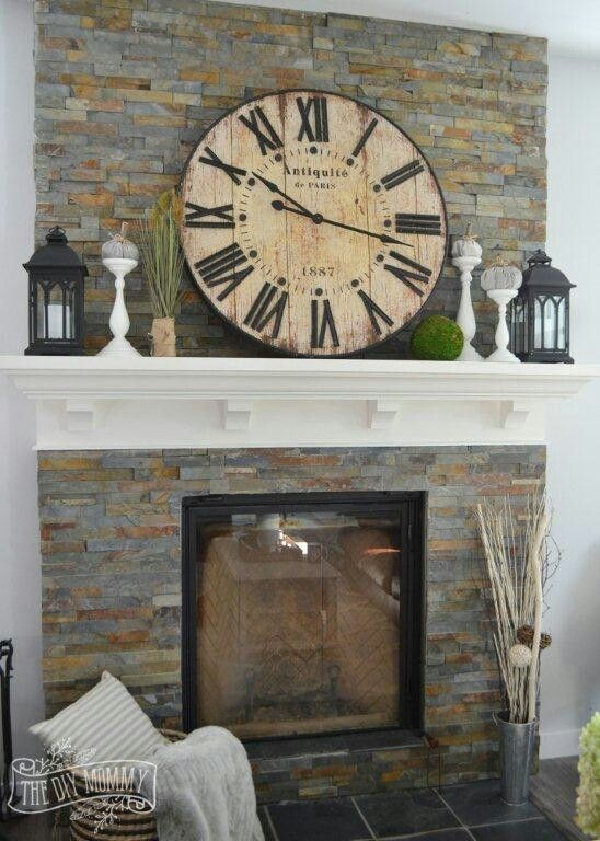 Mantel Over Fireplace Decor