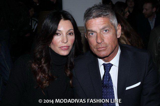 "Backstage and guest Daniele Alessandrini   * Giorgio Restelli ""Mediaset"" and Sara Testa ""stylist"""