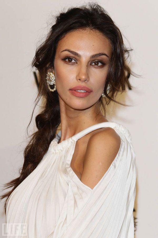 famous italian women ghenea s brunette locks and olive