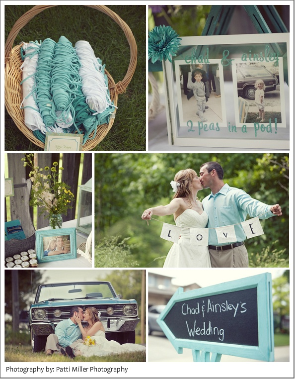 this whole blog has some of the cutest ideas, Court!  look at the love banner they're holding- so precious!Colors Combos, Teal Colors, Childhood Pictures, Beautiful Backyards, Backyards Wedding, Colors Combinations, Wedding Colors, Wedding Blog, Backyard Weddings