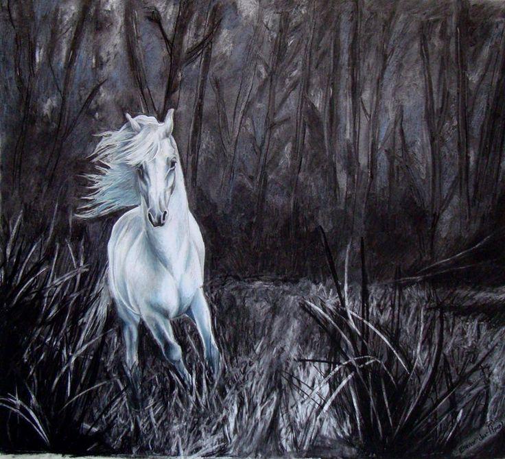 Horse - Pastel on Paper Artist: Ellenor Hastie