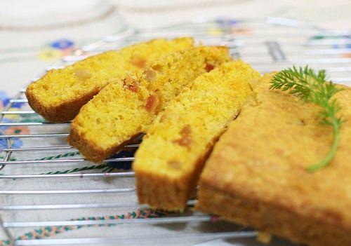 Чадейка - Морковный кекс с цукатами