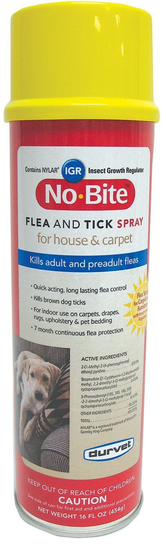 Durvet - Flea And Tick D - No Bite Igr Flea & Tick House & Carpet Spray
