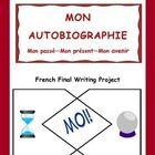 French Final Project (Intermediate French)- Mon autobiographie