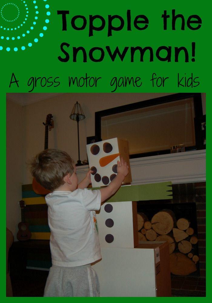 Best 25 snowman games ideas on pinterest christmas for Christmas gross motor activities